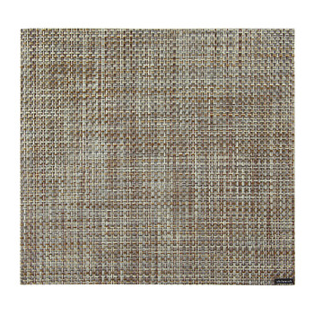 Basketweave Square Placemat - Willow