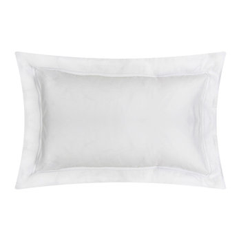Triomphe Sateen Pillowcase - Silver