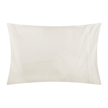 White Egyptian Cotton Pillowcases - Set of 2 - Standard