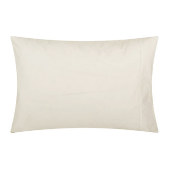 Cream Egyptian Cotton Pillowcases - Set of 2