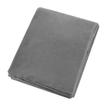 Soft Fleece Blanket - Medium Grey