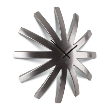 Large Burst Metal Clock