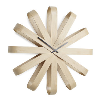 Large Ribbonwood Clock