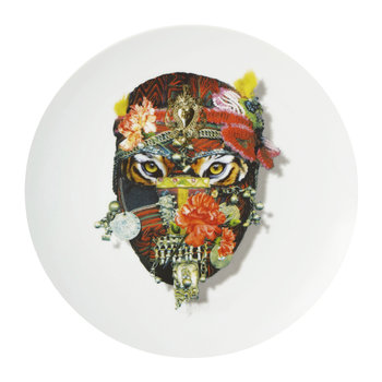 Love Who You Want - Assiette « Monsieur Tigre »