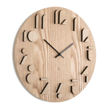 Shadow Wall Clock - Natural