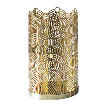 Lunar Candle Holder - Brass