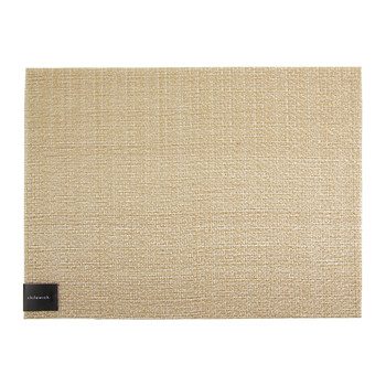 Glassweave Rectangle Placemat - Gold