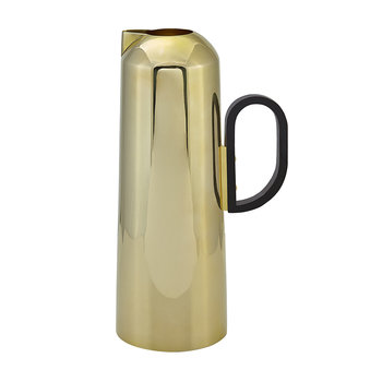 Form Pitcher - Brass
