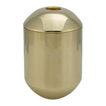 Form Tea Caddy - Brass