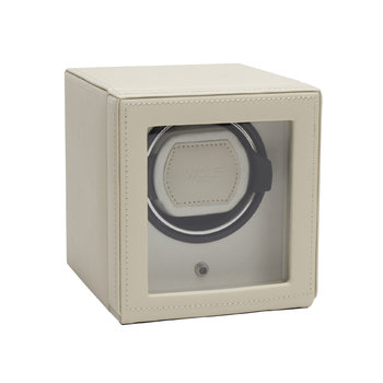 Cub Watch Winder with Cover - Cream