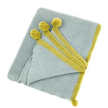 Cotswold Throw - Teal