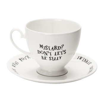 Mad Hatter Teacup & Saucer