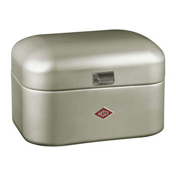 Single Grandy Bread Bin - New Silver