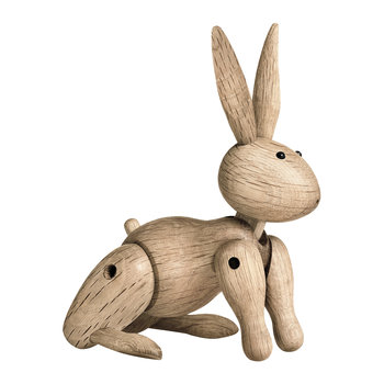 Rabbit Wooden Figurine - Oak