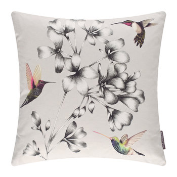 Amazilia Floral Pillow - 43x43cm - Linen
