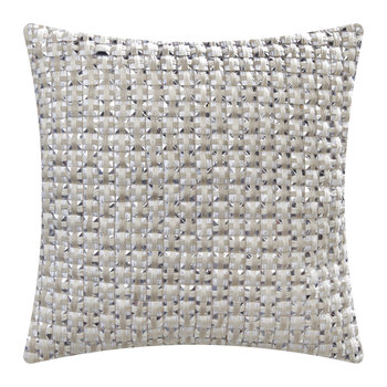 Silk Cube Bed Cushion - Ivory
