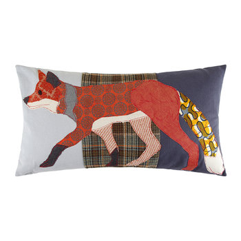 Running Fox Cushion - 70x40cm