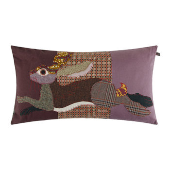 Leaping Hare Cushion - 70x40cm