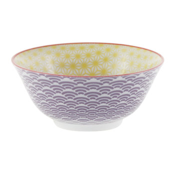 Starwave Bowl - Yellow/Purple
