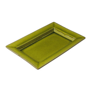 Tourron Rectangular Dish - Lime Green