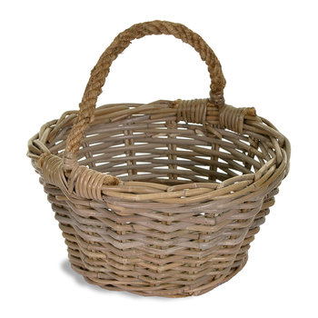 Harvest Basket with Rope Handles
