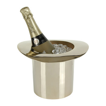 Top Hat Champagne Cooler - Gold