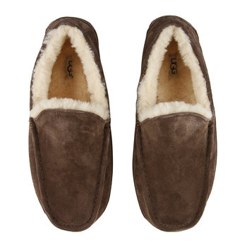 Men's Ascot Slippers - Espresso