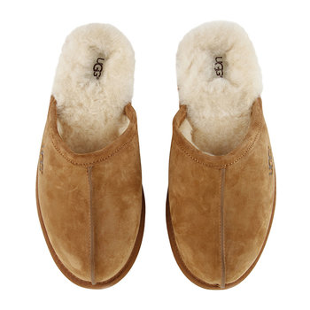 Men's Scuff Slippers - Chestnut