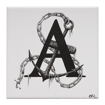 Anchor's Away Letter A Tile