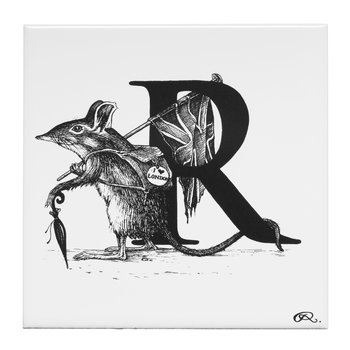 Rat Race Letter R Tile