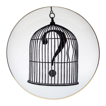 Perfect Plates - Question Mark Birdcage