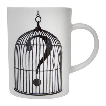 Marvelous Mugs - Birdcage with Question Mark