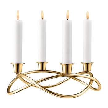 Season Candle Holder - Gold