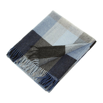 Lambswool Throw - Denim