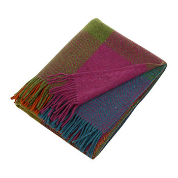 Heavy Herringbone Throw - Circus