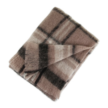 Mohair Throw - Manhattan