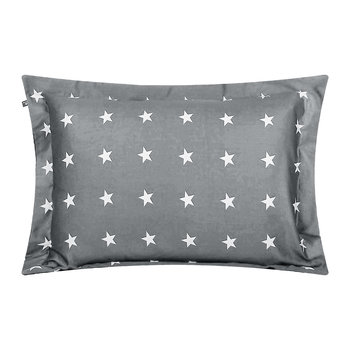 Allover Star Pillowcase - Grey