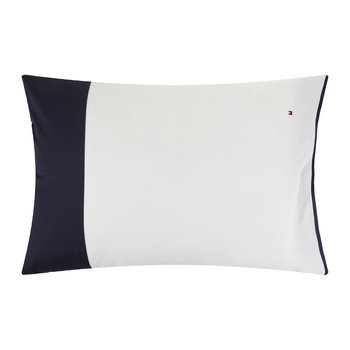 Navy Color Block Pillowcase
