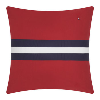 Colour Block Cushion - 40x40cm - Red