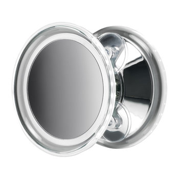 BS 18 Cosmetic Mirror - Illuminated Chrome - 5x Magnification