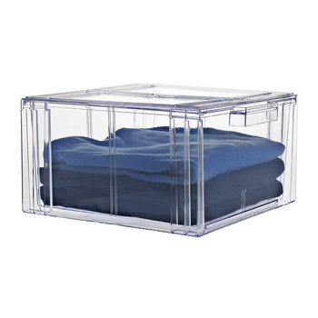 Clear Clothing Drawer - Large