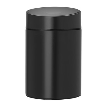 Slide Bin with Plastic Lid - 5 Litres - Black