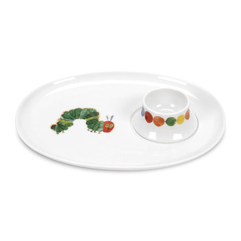 Caterpillar Egg Cup & Soldier Tray