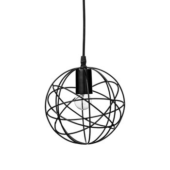 Cage Pendant Lamp - Black