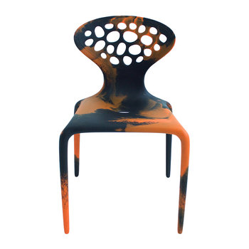 Supernatural Chair - Multicolor - Black / Orange