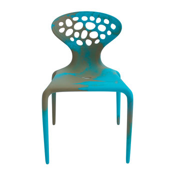 Supernatural Chair - Multicolor - Turquoise / Caramel