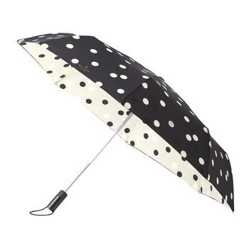 Travel Umbrella - Black Dots