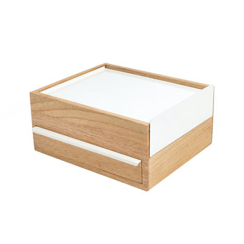 Stowit Large Jewelry Box - White/Natural
