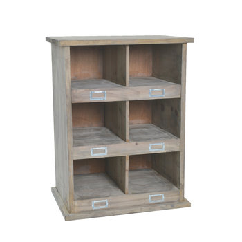 Chedworth Shoe Locker - 6 Compartment