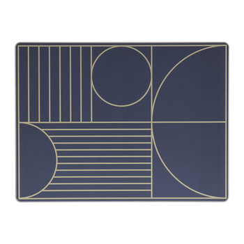 Outline Placemat - Dark Blue